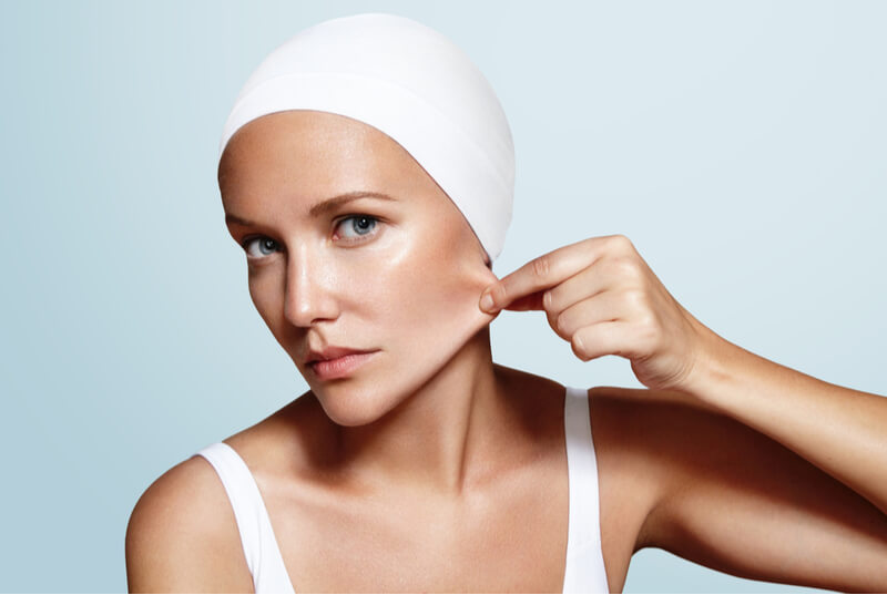acne facial facelifting effects