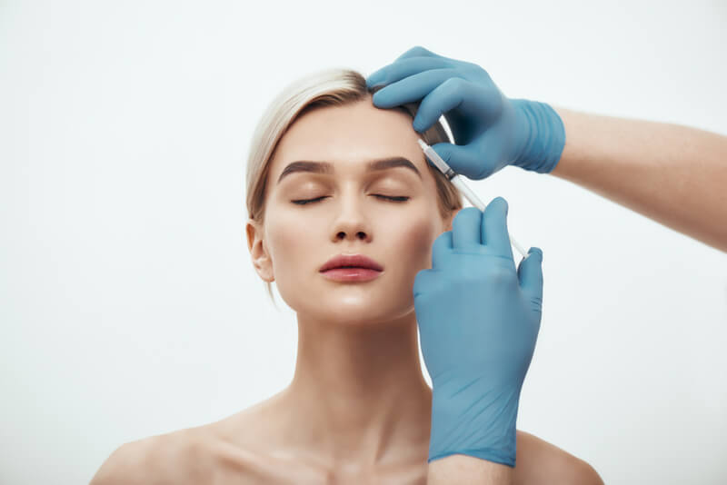 botox and skin booster for 30s