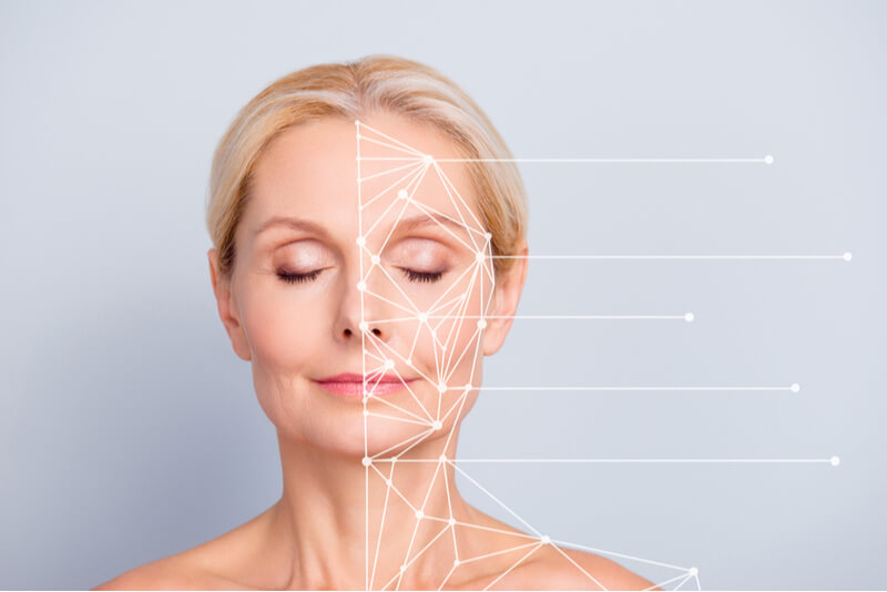 aesthetic treatment for reducing wrinkles